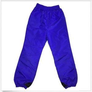 Columbia 90s Vintage Pull On Snow Pants Sm Purple